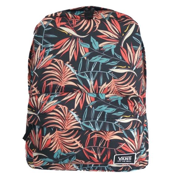 Vans Accessories | Vans Realm Classic Backpack California Floral ...